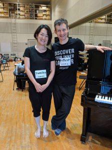 DANCE FOR PDのデービッド先生と田中由美子