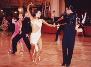 本気のダンス。全英選手権で踊る田中由美子